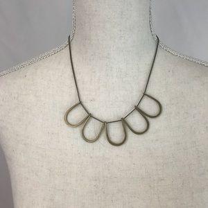 Plunder vintage gold necklace